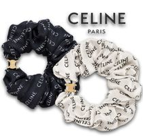 CELINE Costume Jewelry Scrunchy Casual Style Party Style