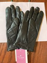 kate spade new york Leather Leather & Faux Leather Gloves