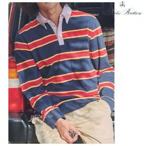 Brooks Brothers Stripes Long Sleeves Long Sleeve T-shirt Polos