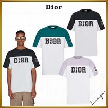 Christian Dior Oversized dior and kenny scharf t-shirt