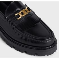 CELINE Celine margaret loafer with triomphe chain in polished bull