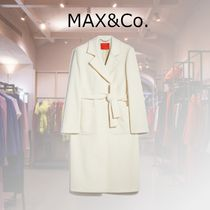 Max&Co. Casual Style Wool Plain Party Style Office Style
