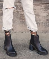 Dr Martens Lace-up Block Heels Lace-up Boots