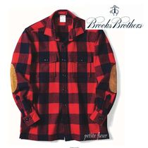 Brooks Brothers Other Plaid Patterns Wool Long Sleeves Front Button Shirts