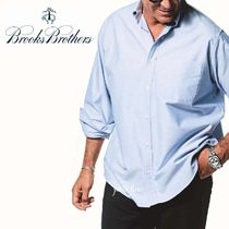 Brooks Brothers Button-down Long Sleeves Plain Front Button Shirts