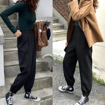 Casual Style Street Style Plain Long Party Style Halloween