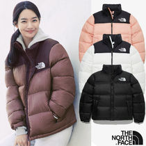THE NORTH FACE Nuptse Short Casual Style Unisex Street Style Office Style