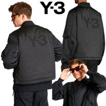 Y-3 Street Style Bomber Jackets