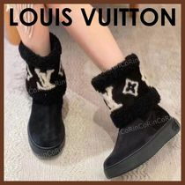 Louis Vuitton Casual Style Logo Boots Boots
