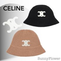 CELINE Street Style Bucket Hats Keychains & Bag Charms