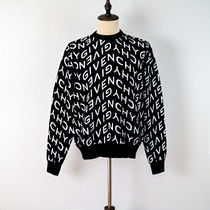 GIVENCHY Givenchy refracted sweater in jacquard