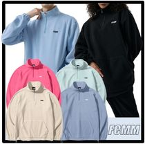 FCMM Casual Style Street Style Logo Tops