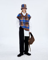 ADERERROR Casual Style Unisex Street Style Cotton Long Office Style