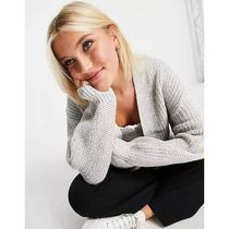 New Look Cable Knit Casual Style Street Style Long Sleeves Plain
