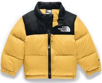 THE NORTH FACE Nuptse Unisex Street Style Military Baby Girl Outerwear