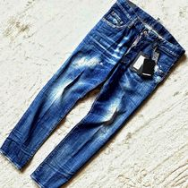 D SQUARED2 Street Style Cotton Handmade Skinny Jeans