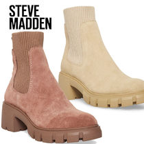 Steve Madden Casual Style Plain Boots Boots