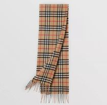 Burberry Unisex Blended Fabrics Street Style Kids Girl Accessories