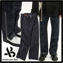 ANDERSSON BELL Street Style Logo Jeans