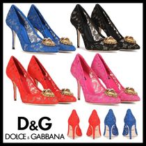 Dolce & Gabbana Party Style Elegant Style High Heel Pumps & Mules