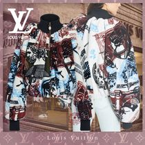 Louis Vuitton Casual Style Blended Fabrics Collaboration Party Style