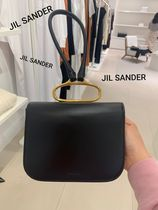 Jil Sander Casual Style Plain Leather Party Style Office Style