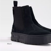PUMA Platform Casual Style Plain Ankle & Booties Boots