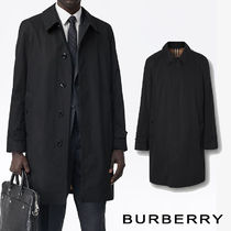 Burberry Street Style Long Logo Trench Coats