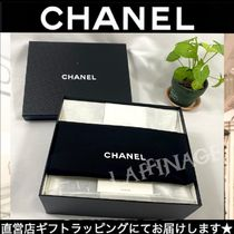 CHANEL Casual Style Plain Leather Party Style Office Style