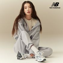 New Balance Casual Style Street Style Long Sleeves Logo Dresses