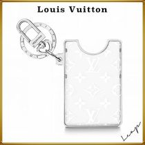 Louis Vuitton Lv prism id holder bag charm and key holder