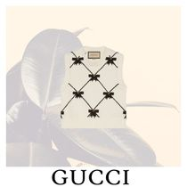 GUCCI Crew Neck Short Other Plaid Patterns Casual Style Sleeveless