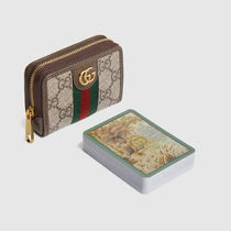 GUCCI GG Supreme Playing card set with doubleg