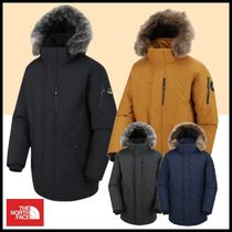 THE NORTH FACE MCMURDO Unisex Street Style Logo Down Jackets