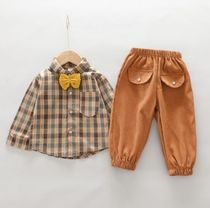 PatPat Co-ord Front Button Baby Boy Tops