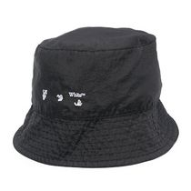 Off-White Street Style Bucket Hats Wide-brimmed Hats