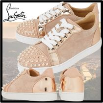 Christian Louboutin Casual Style Street Style Leather Logo Low-Top Sneakers