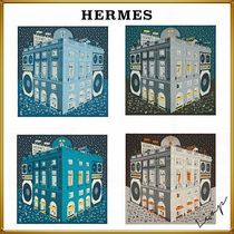 HERMES Faubourg party scarf 100