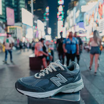 New Balance 990 Unisex Street Style Collaboration Plain Low-Top Sneakers