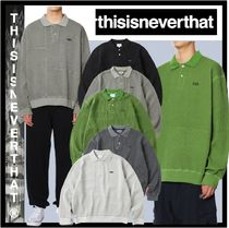 thisisneverthat Casual Style Street Style Logo Polos