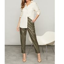 Casual Style Faux Fur Plain Party Style Office Style