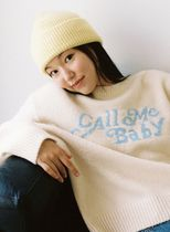 Call Me Baby Long Sleeves V-neck & Crew neck