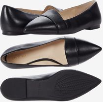 Cole Haan Casual Style Plain Leather Office Style Pointed Toe Shoes