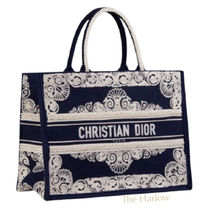 Christian Dior BOOK TOTE Street Style Handmade Mothers Bags