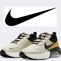 Nike AIR MAX Platform Rubber Sole Casual Style Leather Elegant Style
