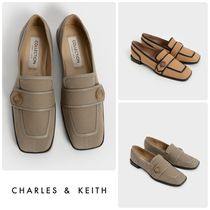 Charles&Keith Casual Style Chain Plain Office Style Logo