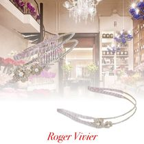 Roger Vivier Casual Style Flower Party Style Office Style Elegant Style