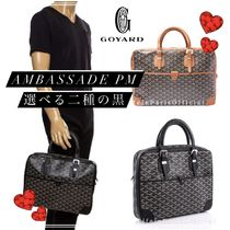 GOYARD Blended Fabrics Leather Business & Briefcases
