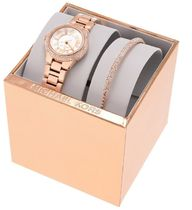 Michael Kors Casual Style Round Party Style Quartz Watches Stainless