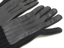 Burberry Cashmere Leather Leather & Faux Leather Gloves